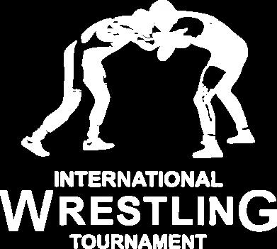 Принт Женская футболка с V-образным вырезом International Wrestling Tournament - FatLine