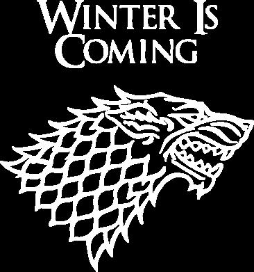 Принт Камуфляжная футболка Winter is coming (Игра престолов) - FatLine