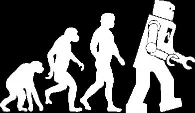 Принт Мужская толстовка на молнии The Bing Bang theory Evolution - FatLine
