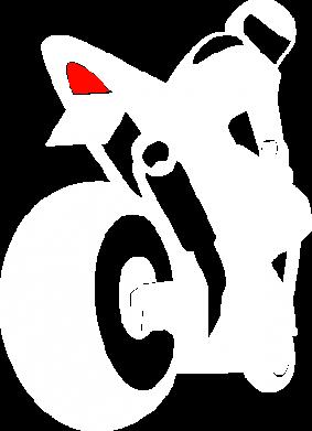 Принт Реглан Мотоциклист на спорте - FatLine