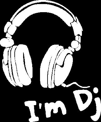 Принт Майка-тельняшка I'm DJ - FatLine