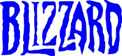 Принт Подушка Blizzard Logo - FatLine