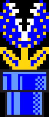 Принт Подушка Цветок-людоед Супер Марио - FatLine