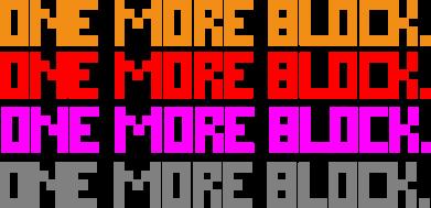 ����� ����� One more block - FatLine