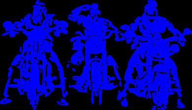 Принт Женская футболка Три богатыря - FatLine