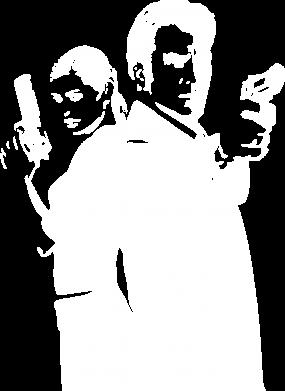 Принт Мужская толстовка на молнии Max Payne 2 - FatLine