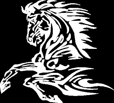 Принт Мужская толстовка на молнии Лошадь - FatLine