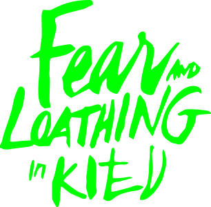 Принт Шапка Fear mo Loathing in Kitv - FatLine