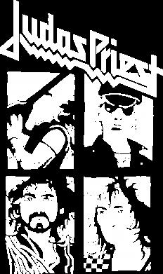Принт Женская футболка поло Judas Priest - FatLine