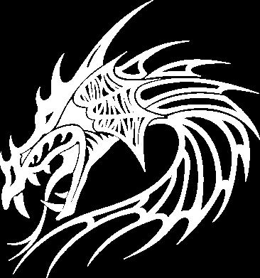 Принт Майка-тельняшка Dragon - FatLine