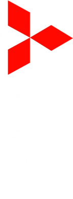 Принт Толстовка Mitsubishi Motors лого - FatLine