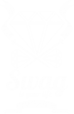 Принт Футболка Поло Swag is your life - FatLine