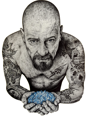 ����� �����-������ Walter White with meth - FatLine