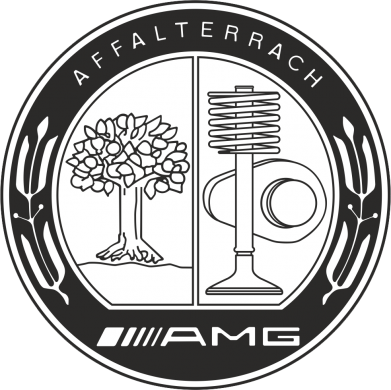 Принт Подушка AMG - FatLine