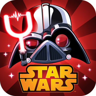 Принт Футболка Angry Birds Star Wars Logo - FatLine