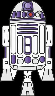 Принт Женские шорты R2D2 - FatLine