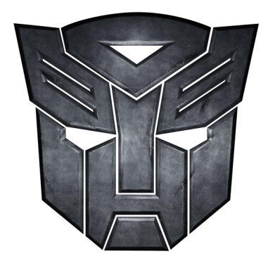 ����� ������� ��������  � V-�������� ������� Transformers Logo - FatLine