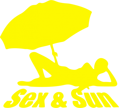 Принт Толстовка Sex and Sun - FatLine