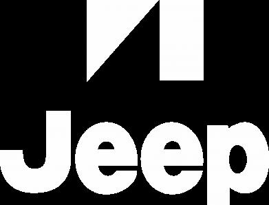 Принт Женская футболка с V-образным вырезом Jeep Logo - FatLine