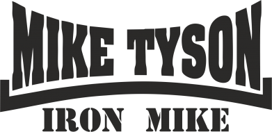 Принт Наклейка Tyson Iron Mike - FatLine