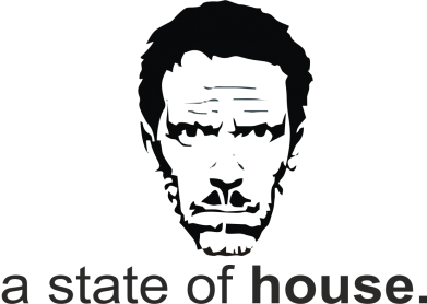 Принт Футболка a state of House - FatLine