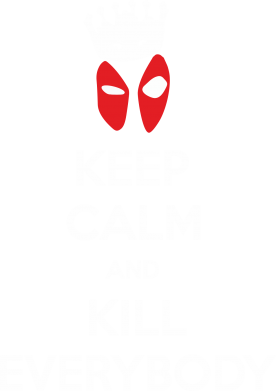 Принт Сумка KEEP CALM and KILL EVERYBODY - FatLine