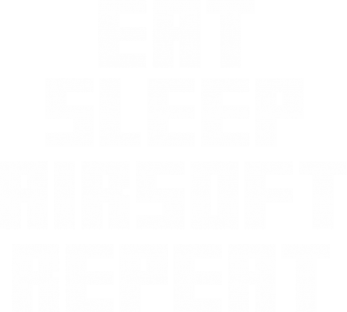 ����� ������� �������� Eat sleep airsoft - FatLine