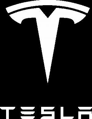 Принт Женская футболка Tesla Logo - FatLine