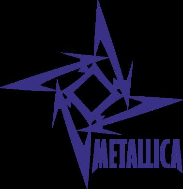 Принт Подушка Metallica Logotype - FatLine