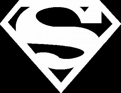 Принт Женская футболка поло Superman одноцветный - FatLine