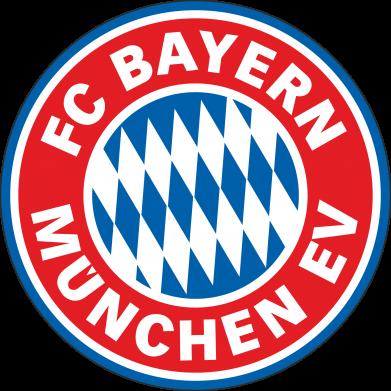 Принт Женская футболка с V-образным вырезом FC Bayern Munchen - FatLine