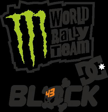 Принт Фартук Ken Block Monster Energy - FatLine