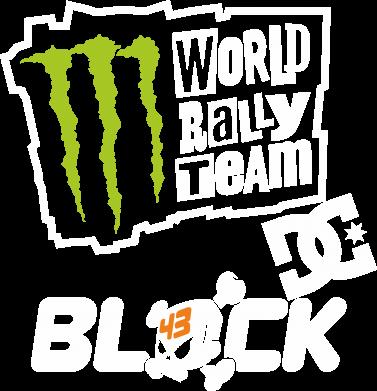 Принт Женская футболка Ken Block Monster Energy - FatLine