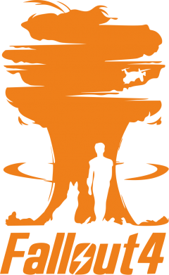 Принт Тельняшка с длинным рукавом Fallout 4 Art - FatLine