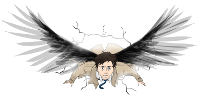 Принт Фартук Castiel Hope - FatLine