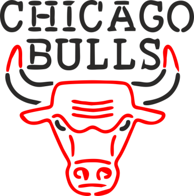 Принт Подушка Chicago Bulls Logo - FatLine