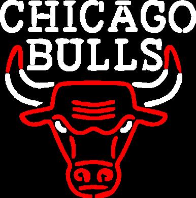 Принт Мужская майка Chicago Bulls Logo - FatLine