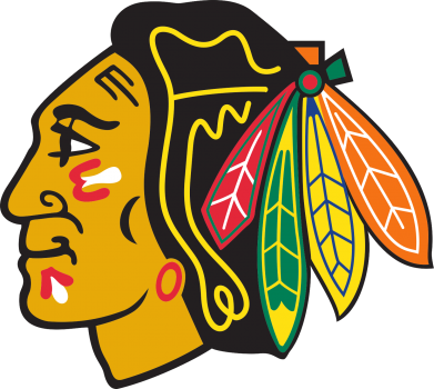 Принт кепка Chicago Black Hawks - FatLine