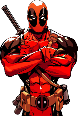 ����� ������ ��� ���� Deadpool Comics - FatLine