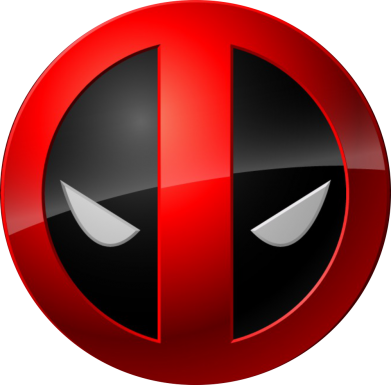 ����� ������ Deadpool Logo - FatLine