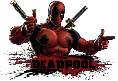����� ������ Deadpool Paint - FatLine