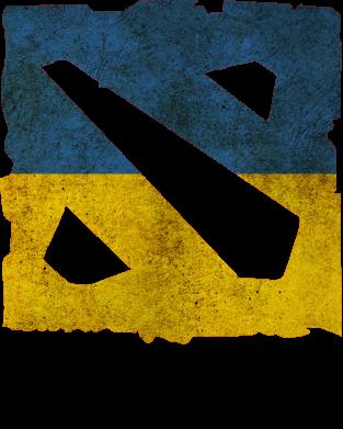 Принт Мужская толстовка Ukraine Dota Team - FatLine