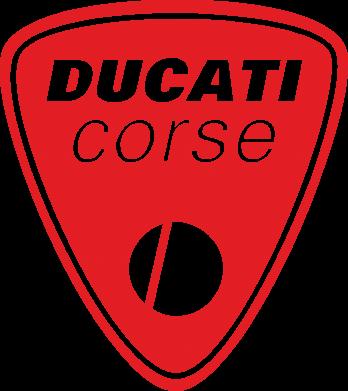 Принт Женская футболка Ducati Corse - FatLine