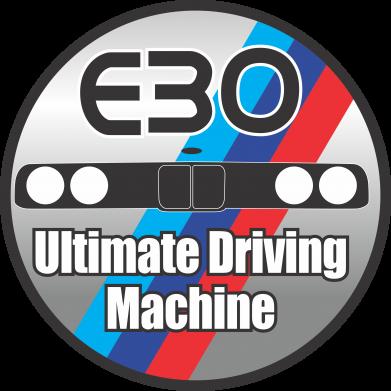 Принт Детская футболка BMW E30 Ultimate Driving Machine - FatLine