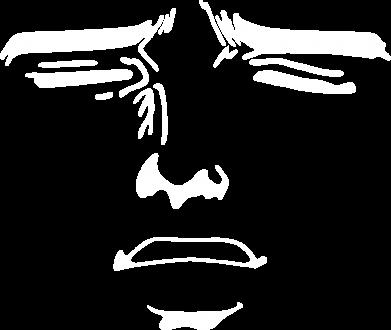 Принт Реглан Лицо аниме - FatLine