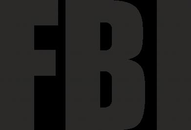 Принт Коврик для мыши FBI (ФБР) - FatLine