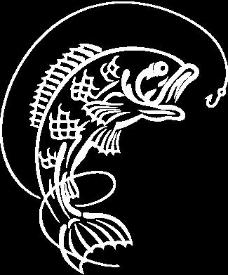 Принт Женская футболка с V-образным вырезом Рыба - FatLine