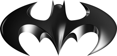 "Принт Фартук Batman ""3d Logo"" - FatLine"