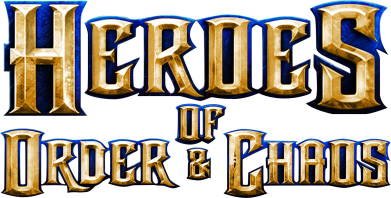 Принт Подушка Heroes of Order & Chaos - FatLine