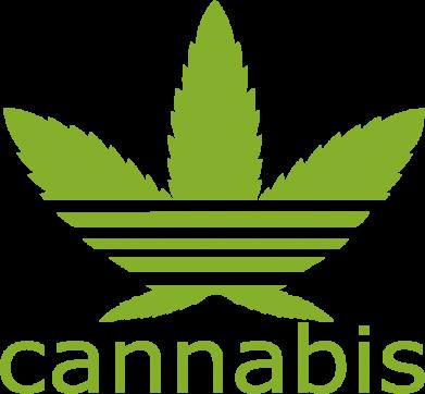 Принт Женская футболка поло Cannabis - FatLine